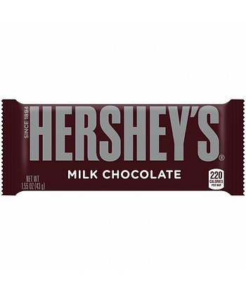 HERSHEY MILK 36X45 GR