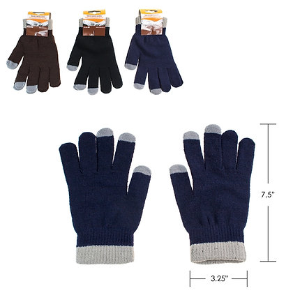 TOUCH IPHONE/ANDROID SCREEN WINTER GLOVE