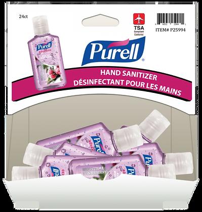 Purell Essentials Hand Sanitizer with Flip-Cap 30mL, 24ct Gravity Pack