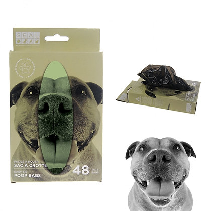 DOG CLEANING BAGS, 48 PACK