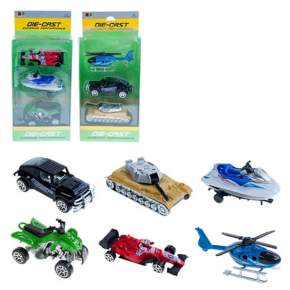 IPLAY - ASSORTED DIECAST VEHICLES