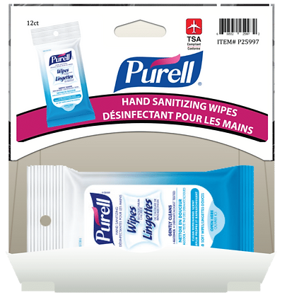 Purell Hand Sanitizing Wipes 10pk, 12ct Gravity Pack