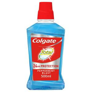 Colgate Total Peppermint Cetylpyridinium Chloride Mouthwash 60mL