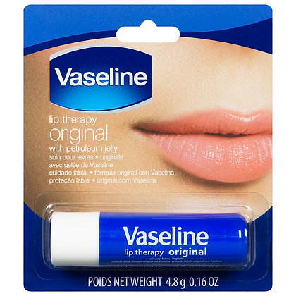 Vaseline Original Lip Therapy With Petroleum Jelly 4.8g