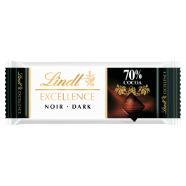 LINDT EXCELLENCE 70% CACAO 24X35 GR