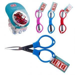 DUH - MINI FOLDING SCISSORS, 50 PCS DISPLAY