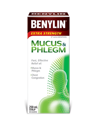 Benylin Extra Strength Mucus & Phlegm Syrup 100mL