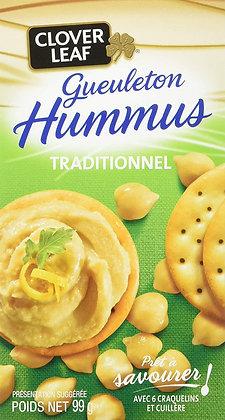 CLOVER LEAF HUMMUS TRADITIONAL 99GR