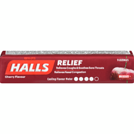 HALLS DROPS 9PACK X 20 Cherry