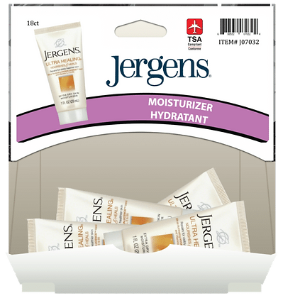 Jergens Ultra Care Moisturizer 30mL, 18ct Gravity Pack