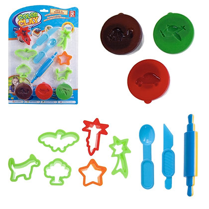IPLAY - TOY DOUGH, TOOLS AND SHAPES