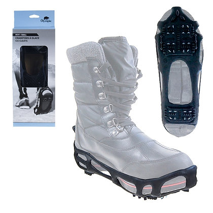 PORTABLE SNOW & ICE SHOE GRIPS, SMALL