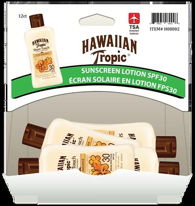 Hawaiian Tropic Sheer Touch SPF30 Sunscreen 59mL, 12ct Gravity Pack