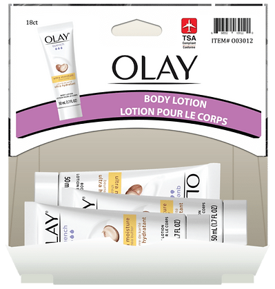 Olay Hand & Body Lotion 50mL, 18ct Gravity Pack