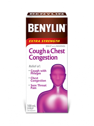 Benylin Extra Strength Cough & Chest Congestion Syrup 100mL