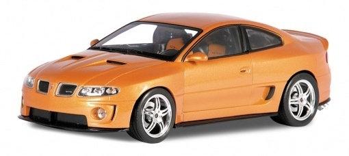 WELLY - 1:18, 2005 PONTIAC GTO RAM AIR 6, ORANGE