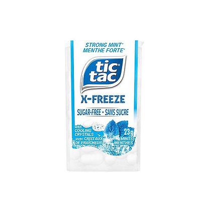 Tic Tac X-Freeze Sugar-Free Strong Mint Mints 23g