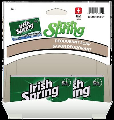 Irish Spring Moisture Bar 90g, 10ct Gravity Pack