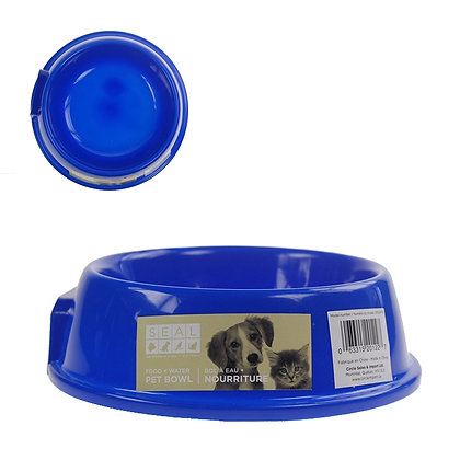 PLASTIC DOG BOWL, SMALL