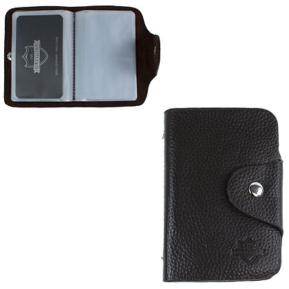 SIR GREGORY - CARD HOLDER, 26 SLOTS, ASST COLOURS
