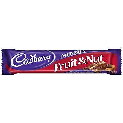CADBURY FRUIT & NUT 24X42 GR