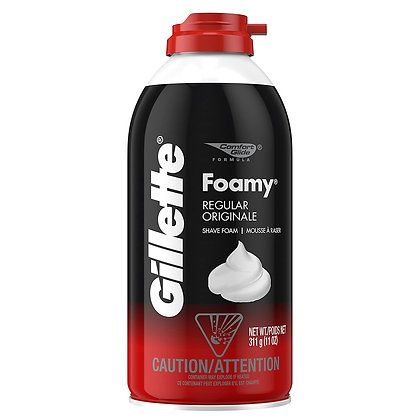 Gillette Foamy Regular Shave Foam 311g