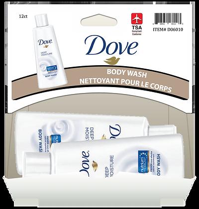 Dove Deep Moisture Body Wash 88mL, 12ct Gravity Pack