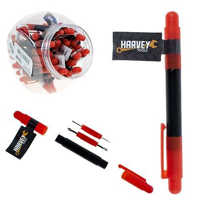 HARVEY TOOLS - 4 IN 1 SCREWDRIVER, 30 PCS DISPLAY