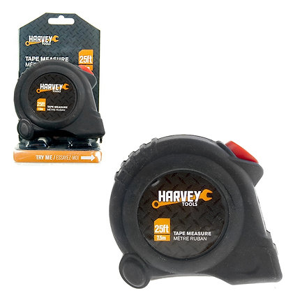HARVEY TOOLS - TAPE MEASURE, LARGE 25