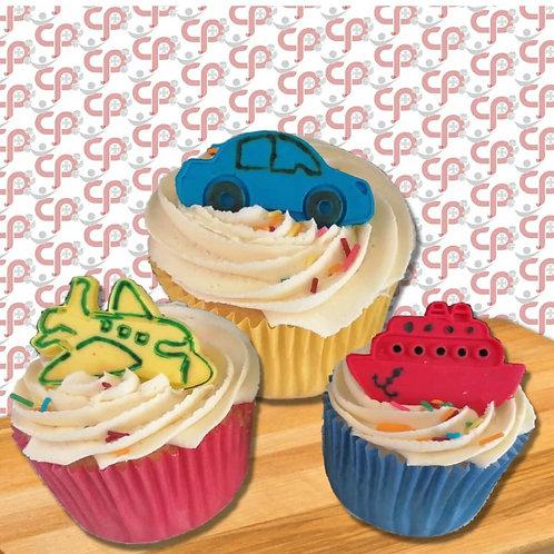 Vervoer Cupcakes