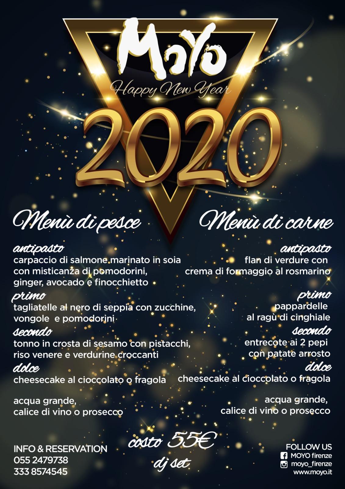 capodanno cena 2020