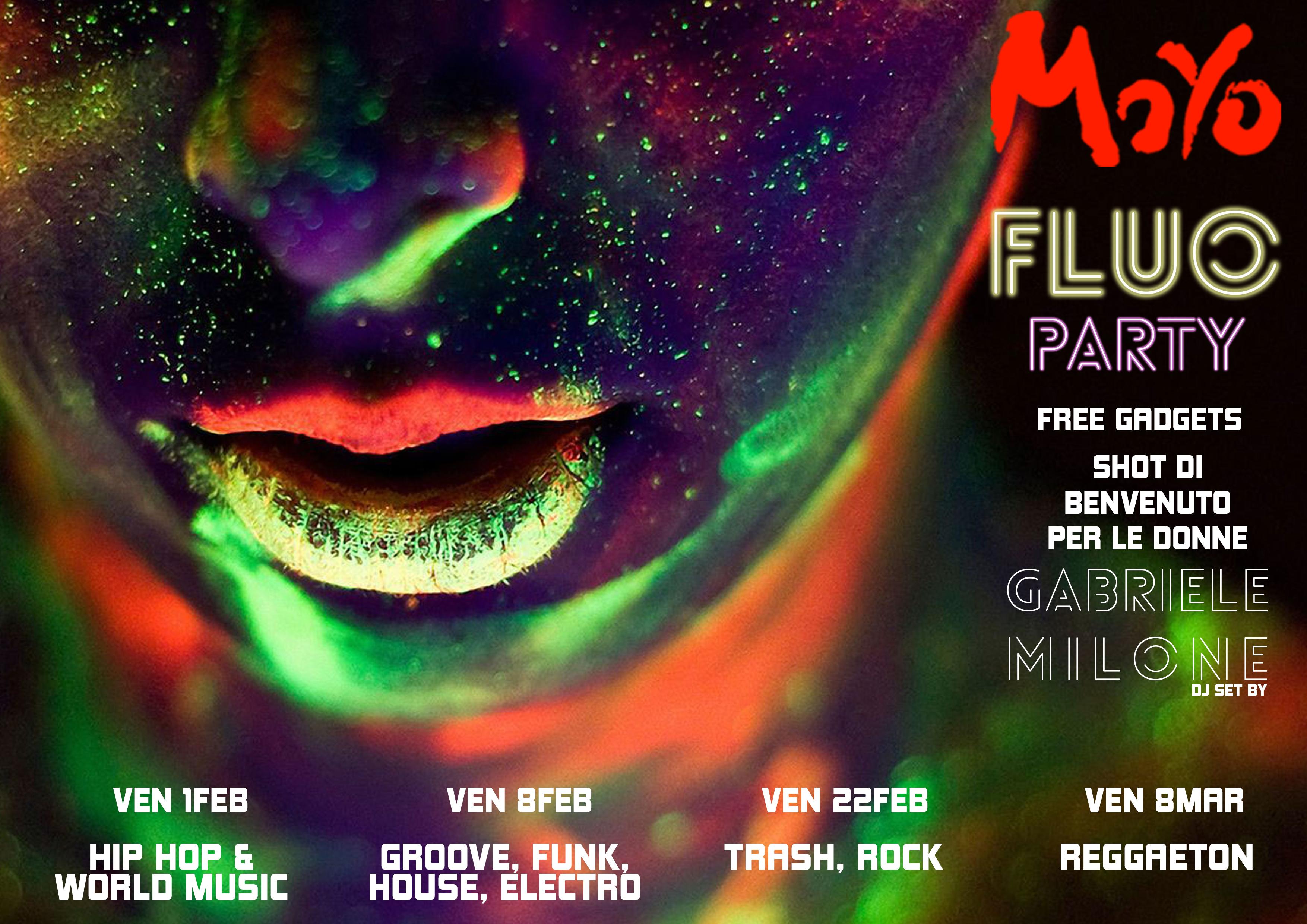 fluo party programma