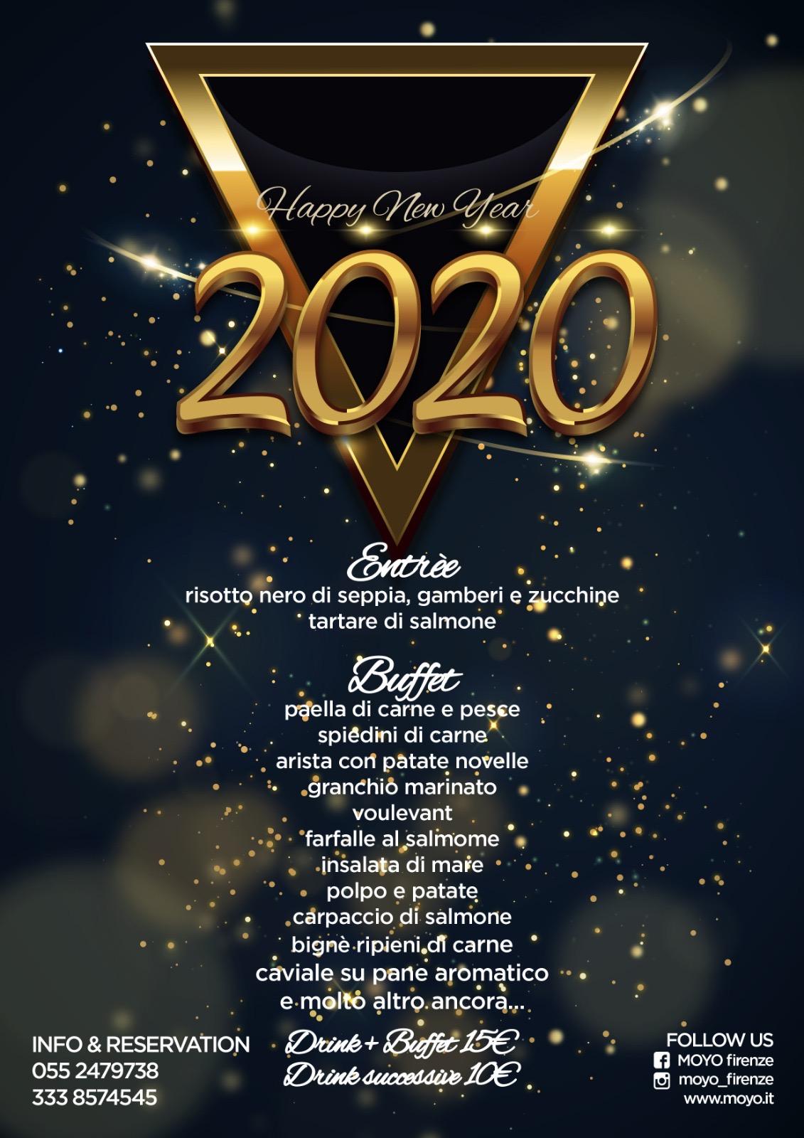 capodanno buffet 2020