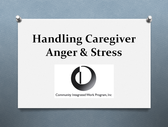 Caregiver Anger