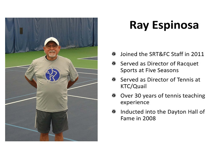 Ray Espinosa -South Regency Staff