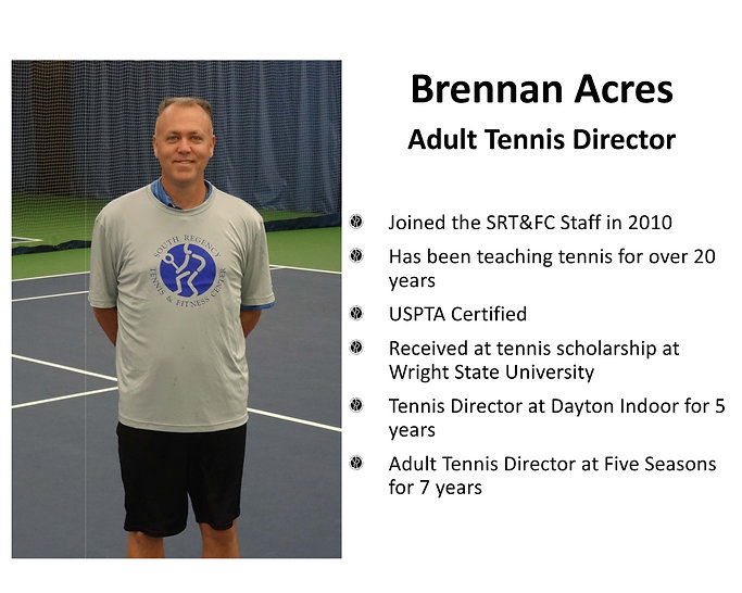 Brennan Acres-South Regency Staff