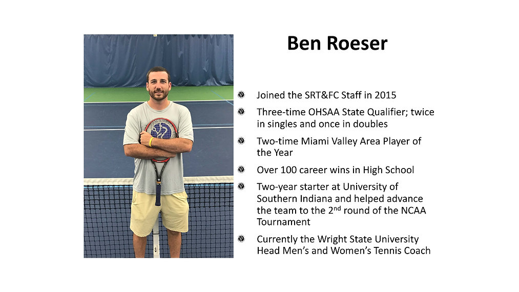 Ben Roeser -South Regency Staff