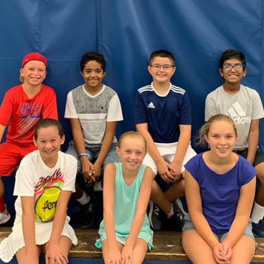Junior Team Tennis 12's Team