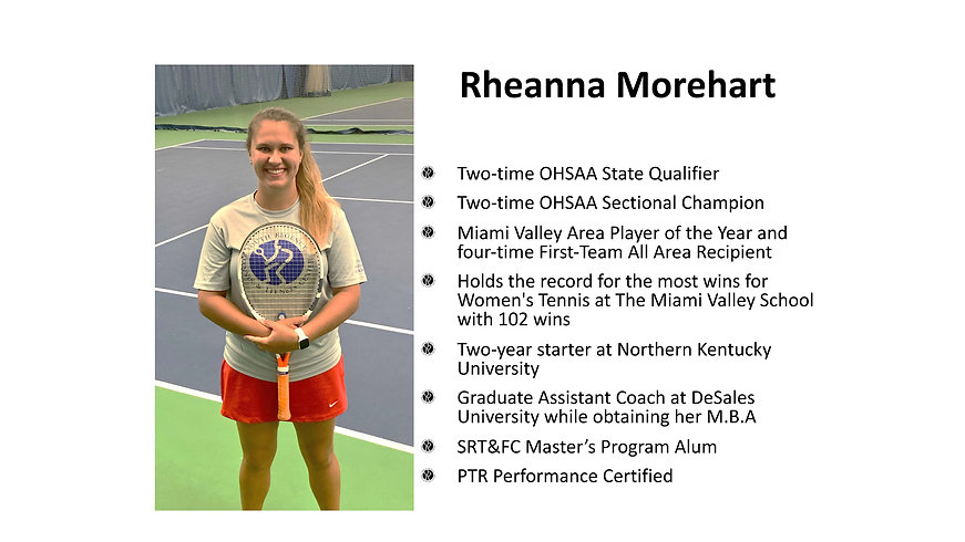 Rheanna Morehart -South Regency Staff
