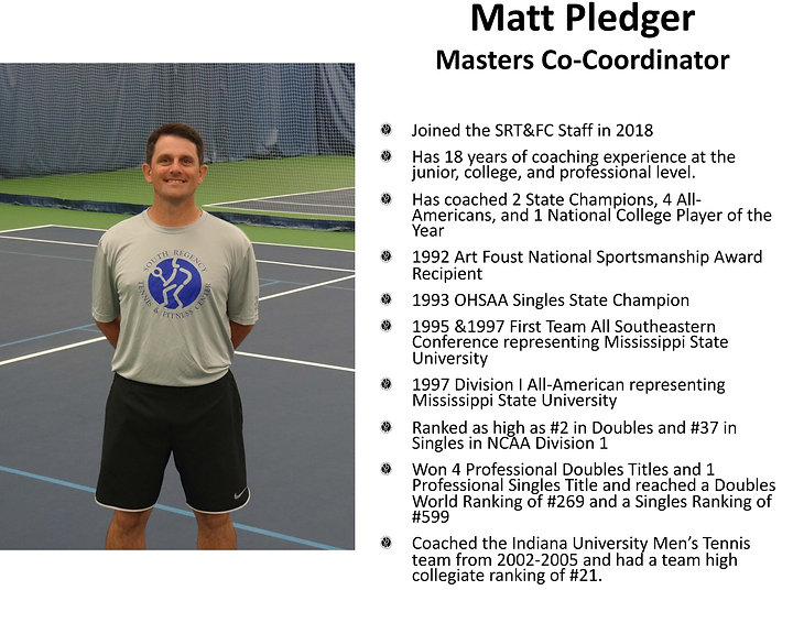 Matt Pledger -South Regency Staff