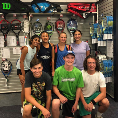 Junior Team Tennis 18's Team