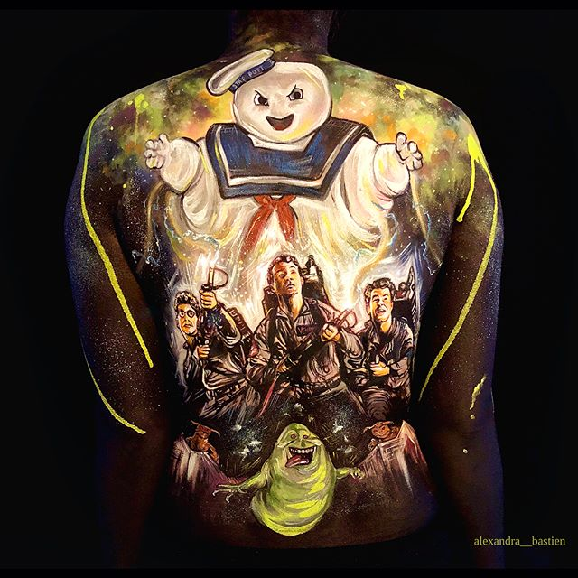 New Body Painting in collaboration with