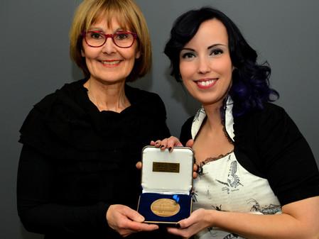 Alexandra received the Medal of the National Assembly of Quebec