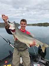 Inland Lake Charter Fishing: Cutler's Catch, Glen Arbor MI