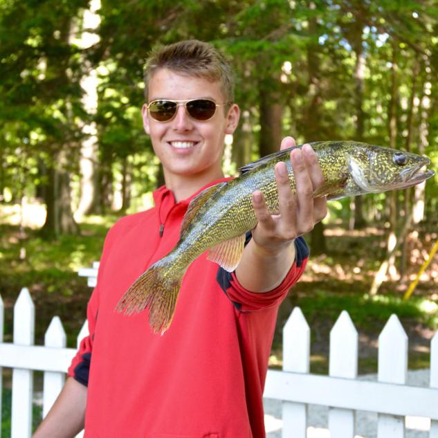 Walleye Fishing Leland | Cutler's Catch Guide Service