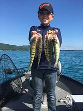 Charter Fishig Glen Lake: Perch Fishing