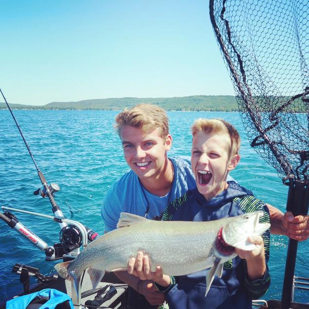 Glen Lake Guided Fishing
