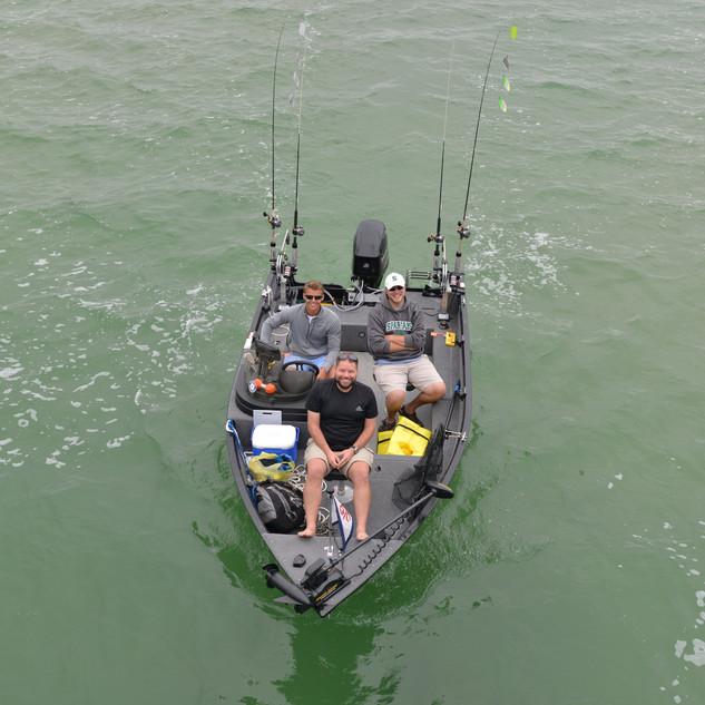 Fishing Lake Leelanau | Cutler's Catch Guide Service
