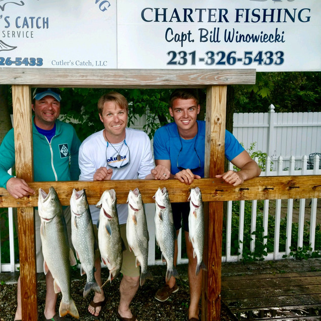 Cutler's Catch Fishing Charters | Empire Outdoors | Empire MI