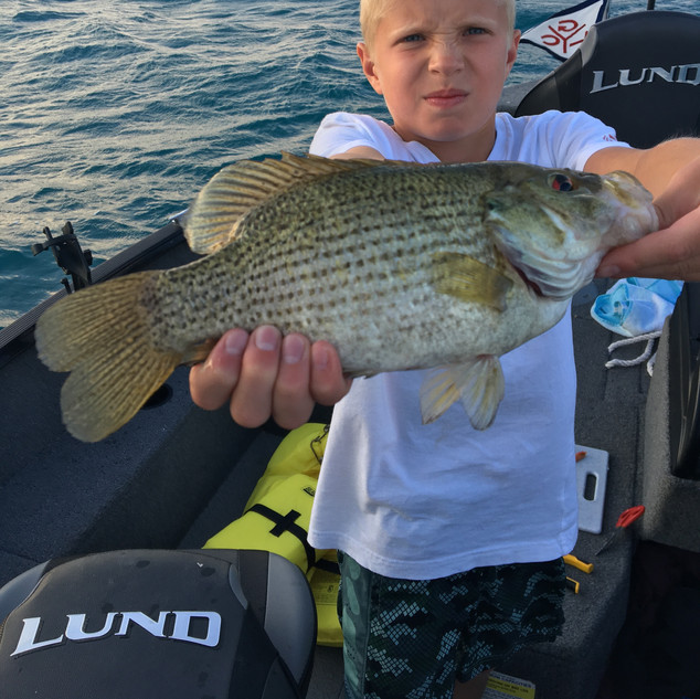 Take a Kid Fishing | Cutler's Catch Guide Service